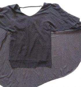 Чёрная разлетайка со шлейфом