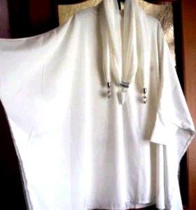 Эксклюзив. Новое платье-туника. Большой р-р. Тай