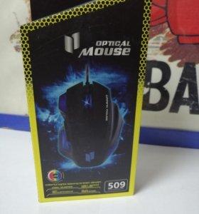 Компьютерная мышь игровая проводная MATO G509