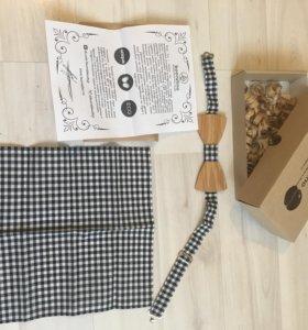 Подарочный набор из галстука бабочки и платка