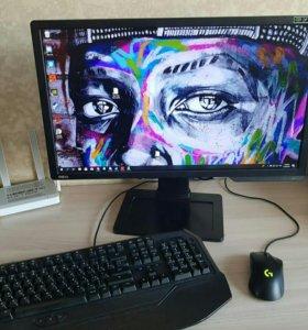 Игровой Компьютер + Монитор 144гц + клавиатура мех