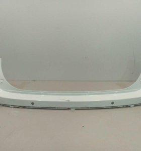 Бампер задний верхняя часть под парктр.SUZUKI SX4 13-16 б/у 7181161M10799 3*