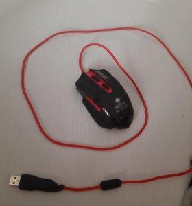 Мышка BIOHAZARD игровая, с проводом