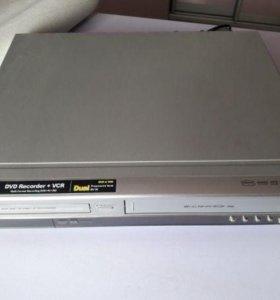 LG DVR576X (кассета и Диск) на запчасти