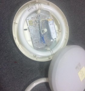 Светильник накладной круглый для сада или бани