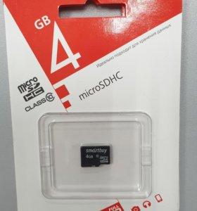 MicroSD 4Gb 10 класса