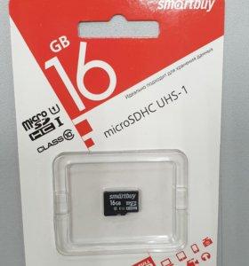 MicroSD 16Gb 10 класса