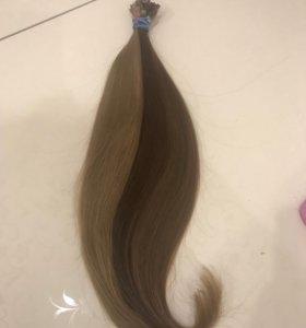 Волосы для наращивания детские 50