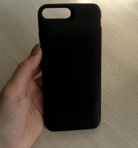 Чехол-зарядка iphone 7+/8+