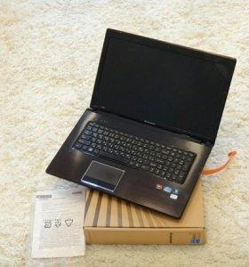 Игровой ноутбук Lenovo 17,3 с коробкой