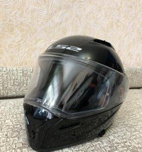 Шлем модуляр LS2 FF324 Metro черный