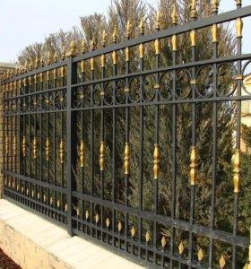 Ворота, калитки, заборы и т.д