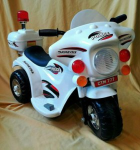 Аккумуляторный мотоцикл.