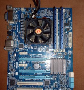 Комплект для компьютера (мат. плата, CPU, ОЗУ)