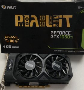Видеокарта GeForce GTX 1050Ti 4 GB