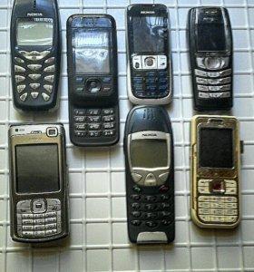 Nokia ( кнопочные)