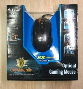 Мышь A4Tech XL-750BK Black USB