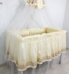 Премиум комплект в кроватку