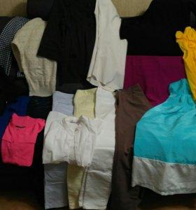 Пакет одежды вещей на 42 размер