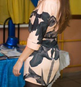 нежное стильное платье качество