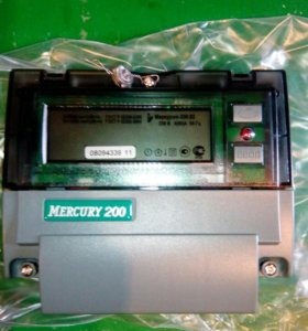 Электросчетчики.Меркурий 200.02