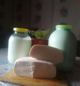 Продам молоко , творог, сыр