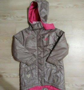 Куртка удлиненная адидас