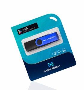 Moweek Многофункциональный USB Flash Drive 4gb