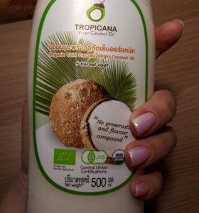 Масло кокоса, холодный отжим