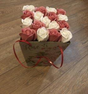 Букет из мыльных роз 🌹