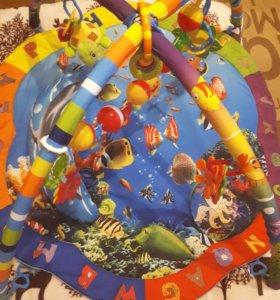 """Развивающий коврик """"подводный мир"""""""