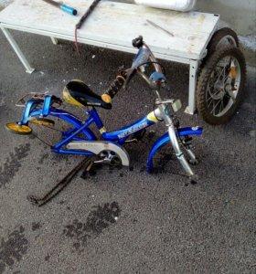 Велосипед детский без камер