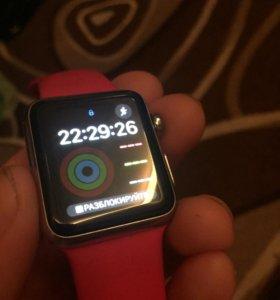 Apple Watch вторые стальные