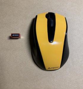Мышь беспроводная A4tech G9-500F USB