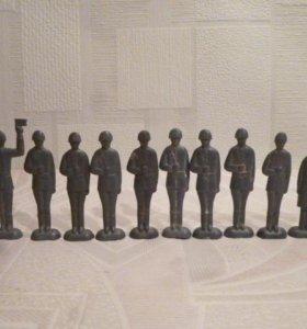 Оловянные солдатики столбики ЗМИ-1 СССР