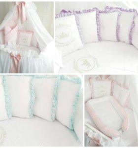 Комплект в кроватку Amanda