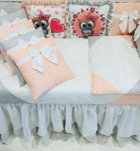 В кроватку новорожденного