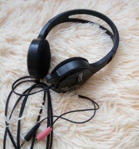 Наушники с микрофоном / гарнитура