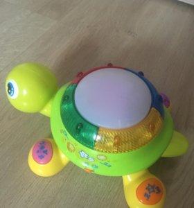 Музыкальная развивающая игрушка Черепаха