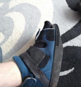 Ботинки ортопедические послеоперационные