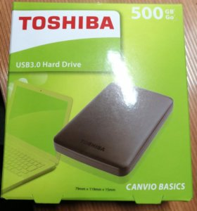 "Внешний диск Toshiba Canvio Basics 2.5"" 500Gb"