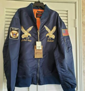 Schott NYC куртка бомбер пилот новая M