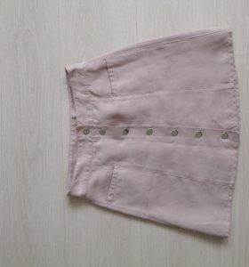 Велюровая юбка.