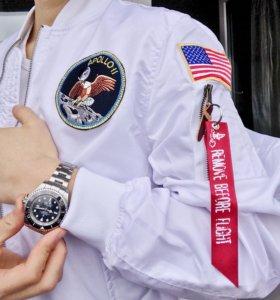 🔥БОМБЕР NASA БЕЛЫЙ🚀