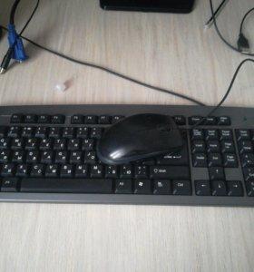 Клавиатура и мышка