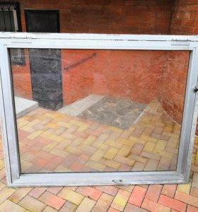 Алюминиевые витражные окна б/у