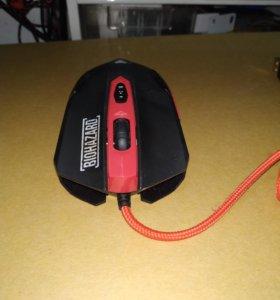 Игровая мышь мышка Biohazard