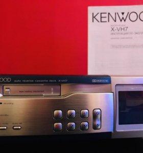 KENWOOD X-VH7 Mini Auto Reverse Cassette Deck Дека