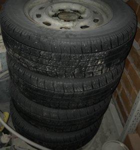Комплект колёс ГАЗ 2217(Соболь)