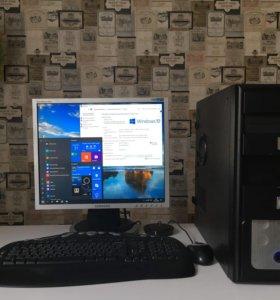 Компьютер для учебы, работы, офиса, Windows 10 PRO